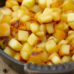 Pommes de terre rissolées huile de coco recettes La Maison du coco