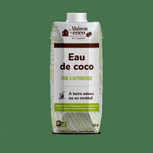 Eau de coco bio bio produit La Maison du coco