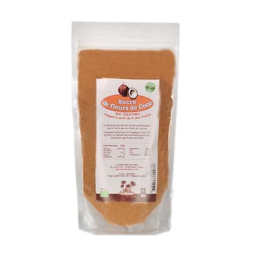 Sucre de coco bio 250 g produit La Maison du coco