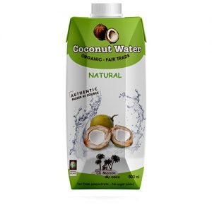 Organic coconut water 500ml La Maison du coco Packaged products Home page