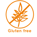 Gluten free icon La Maison du coco Packaged products