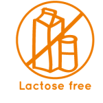 Lactose free icon La Maison du coco Packaged products