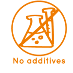 Additives free icon La Maison du coco Packaged products