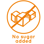 No sugar added icon La Maison du coco Packaged products